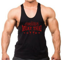 Men/'s Red Beast White Tank Top BL Gym Fitness Workout Lifting Bodybuilding Squat