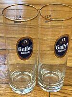 Collectible Set Gaffel Kolsch Cologne German Beer Glass 0.3 0.2 Litre *Stange*