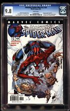 Amazing Spider-Man V2 30 CGC 9.8 Campbell Cover 1st Ezekiel and Morlun #471