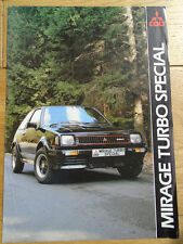 Colt Mirage Turbo Special Mar 1983