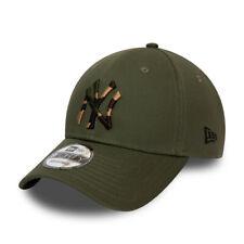 NEW ERA NEW YORK YANKEES BASEBALL CAP.9FORTY MLB CAMO GREEN STRAPBACK HAT S20 7