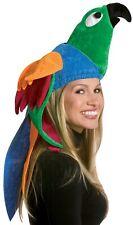 Rasta Imposta Parrot Tropical Bird Hat Adult Halloween Costume Accessory GC2013