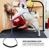 Pet Dog Cat Grooming Table Arm Bath Adjustable Noose Loop Ropes SP
