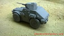 28mm Italian Autoblinda AS43, In Resin By Blitzkrieg WWII Bolt Action