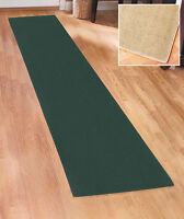"EXTRA-LONG NONSLIP FLOOR RUNNER RUG W/ LATEX BACKING 60"" 90"" 120"" IN 4 COLORS"