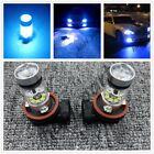 2X H8 H9 H11 H16 8000K Ice Blue 100W Cree Led Headlight Bulbs Kit Fog Light Drl