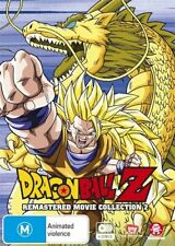 Dragon Ball Z Remastered Movie Collection 2 (Uncut) - Dragon NEW R4 DVD
