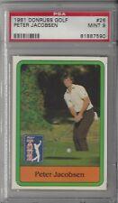 New listing 1981 Donruss Golf #26 Peter Jacobsen PSA 9 MINT 81887590
