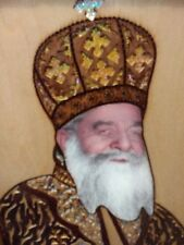 Pope Kyrilos icon, Coptic Christian gift. Wood Wall decor picture