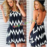Summer Womens Evening Cocktail Party Beach Dress Casual Blouse Bikini Cover Up