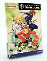 Tales of Symphonia - Jeu Nintendo Gamecube JAP Japan complet