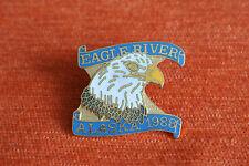 15902 PIN'S PINS ALASKA 1988 EAGLE RIVER AIGLE - RARE