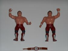 Vintage LJN WWF British Bulldogs Davey Boy Smith & Dynamite Kid Tag Team Figure