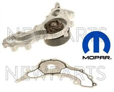 For Chrysler Dodge Jeep Pentastar 3.6L Set of Engine Water Pump w/ Gasket Mopar