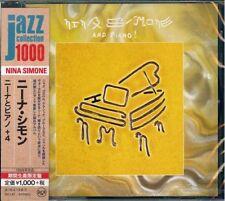 NINA SIMONE-NINA SIMONE AND PIANO-JAPAN CD Ltd/Ed B63