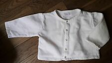 Magnifique Veste Gilet Blanc 18 Mois Jacadi Cardigan