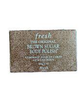 Fresh The Original Brown Sugar Body Polish Exfoliator 7oz/200g, New Sealed,unbox