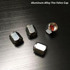 4x Aluminium alloy tire air valve stem cap wheel For Volvo c30 s40 xc60 v50