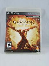 God of War: Ascension - PS3 CIB - TESTED