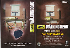 The Walking Dead Season 4/1 Terminus Wardrobe Cards Set Of 8 M10.1 To M10.8