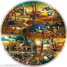 Sunsout Puzzle 1000 Piece Jigsaw Puzzles Landscape Round Puzzle Adult Puzzle New