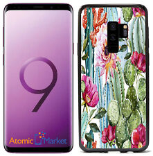 Cactus With Flowers For Samsung Galaxy S9 2018 Case Cover by Atomic Market