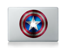 "Captain America Shield Sticker Viny Decal Macbook Air/Pro/Retina 13""15""17"""