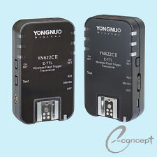 YONGNUO Wireless TTL Flash Trigger YN622 II YN-622C II High Sync Speed for Canon
