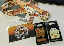 Busch Gardens Limited Edition 60th Anniversary Pins + Lanyard Free Shipping