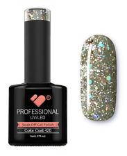 420 VB Line Light Grey Silver Glitter - gel nail polish - super gel polish