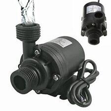 800l/h Dc 12v 24v Brushless Solar Motor Water Pump Mini Submersible Circulation
