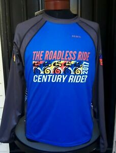Primal Technical Top Cycling Jersey 2017 Roadless Ride Century Mens Large NWT