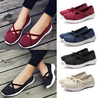 Women Trainers Casual Blet Sport Running Sneakers Tennis Shoes Breathable Loafer