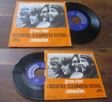 CREEDENCE CLEARWATER REVIVAL - Green River French PS 7' Blues Rock 69'