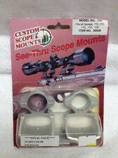 CUSTOM SCOPE MOUNTS 30506 FOR SAVAGE