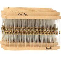 2000Pcs Film 1/4W Carbon 5% 100value Resistor Assortment Box Kit KIT0155  z