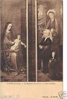 Art - cpa - Retable du baptéme du Christ par DAVID Gérard