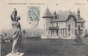 Ansichtskarte Frankreich Pougues Les Eaux Villa de la Montjaie