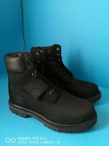 Timberland Women's 6 Inch Premium Black Waterproof Boots size uk 4 New