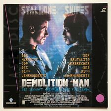 Laserdisc Demolition Man