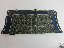 AUTH VINTAGE DUNHILL SILK SCARF MADE IN ITALY