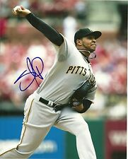 STOLMY PIMENTEL PITTSBURGH PIRATES SIGNED AUTOGRAPHED 8x10 PHOTO W/COA ACTION