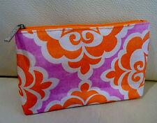 1x CLINIQUE Orange Makeup Cosmetics Bag, Brand NEW!!