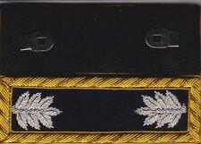 Civil War Staff Lieut Colonel Black Shoulder Boards Shoulder Straps w/Free Coin