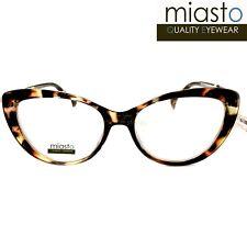 688ef86a8aaf NWT 39.99 MIASTO THICK CAT EYE READER READING GLASSES+1.50 TORTOISE (MEDIUM)