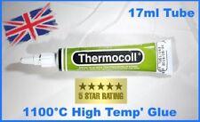 CALDAIA A LEGNA STUFA COLLA/ADESIVO thermocoll 17 ml TUBO 1100 C