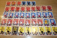 Trading Cards Menge  Fussball Karten Sammlung Deutsch Bundesliga ca.130 Karten