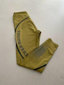 BETTER BODIES Leggings Tights Fitness* Größe M * Farbe senf-olive