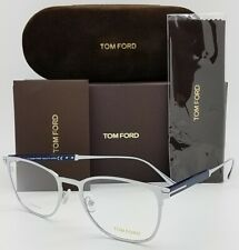 NEW Tom Ford RX Prescription Glasses Titanium TF5483 018 52mm Club 5483 AUTHENT