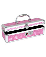 ADULT MASSAGE TOY LOCKABLE SMALL STORAGE CASE FROM BMS Pink